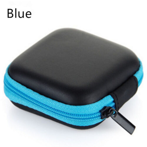 NEW Waterproof Headset Carrying Case Box Earphone Earbud Storage Pouch Bag be