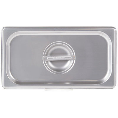 13 Size Solid Stainless Steel Silver Steam Table Hotel Pan Lid Cover