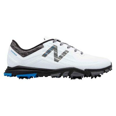 NEW Mens New Balance Minimus NBG1007WK Waterproof Golf Shoes White/Black -Any Sz