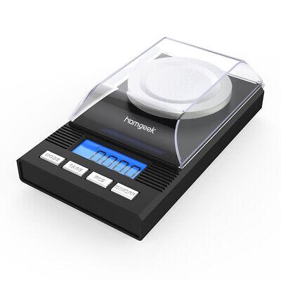 Homgeek High Precision Digital Milligram Scale 50g/0.001g Balance Weight X4X2
