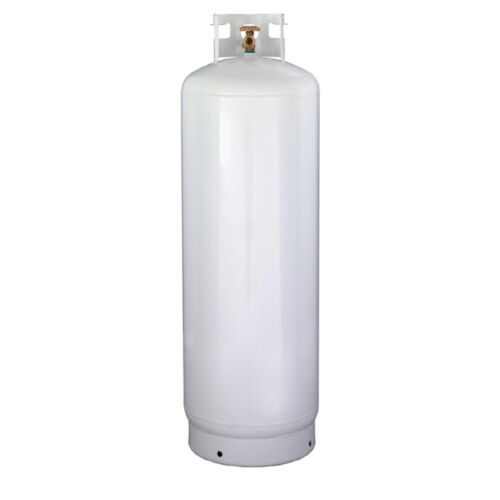 100 lb NEW Steel Propane Cylinder - CGA510 Valve - DOT Approved