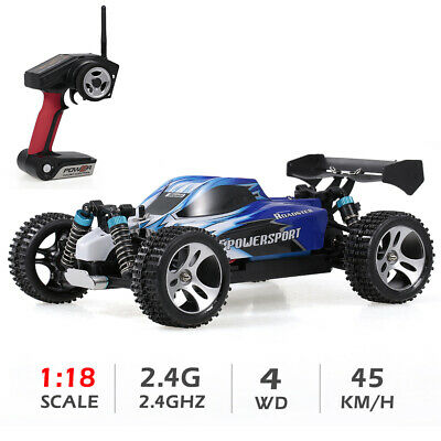 Wltoys A959 1:18 RC Car 2.4Ghz Off Road RC Trucks 4WD Vehicle Racing T1N1