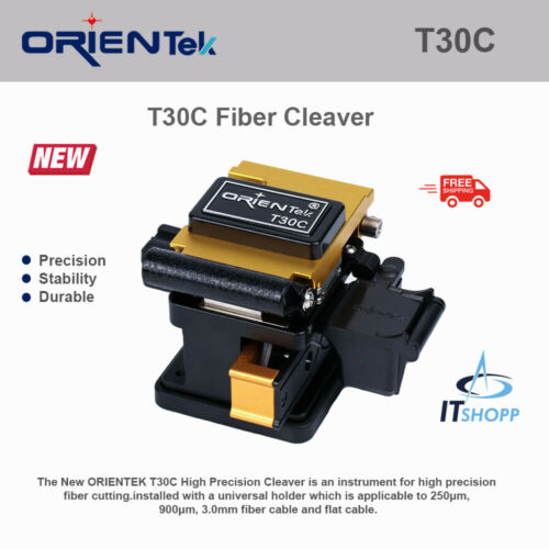 Orientek T30C Fiber Optic Cleaver