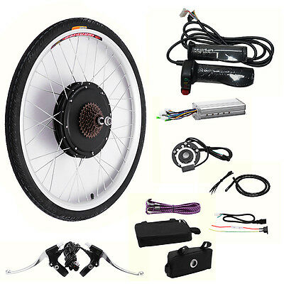 48V 1000W E-bike Motor Hub Electric Bicycle Kits conversion Kits for Rear Wheel