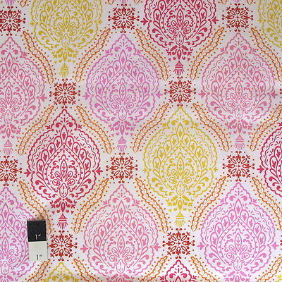 Dena Designs PWDF179 Little Azalea Delphine Pink Cotton Fabric By Yard Little Kid Azalea