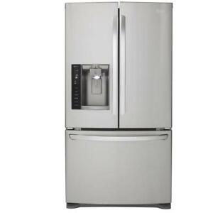 "LG LFX28968ST French Door 36"" Refrigerator with Linear Compressor, Slim SpacePlus Ice System,"