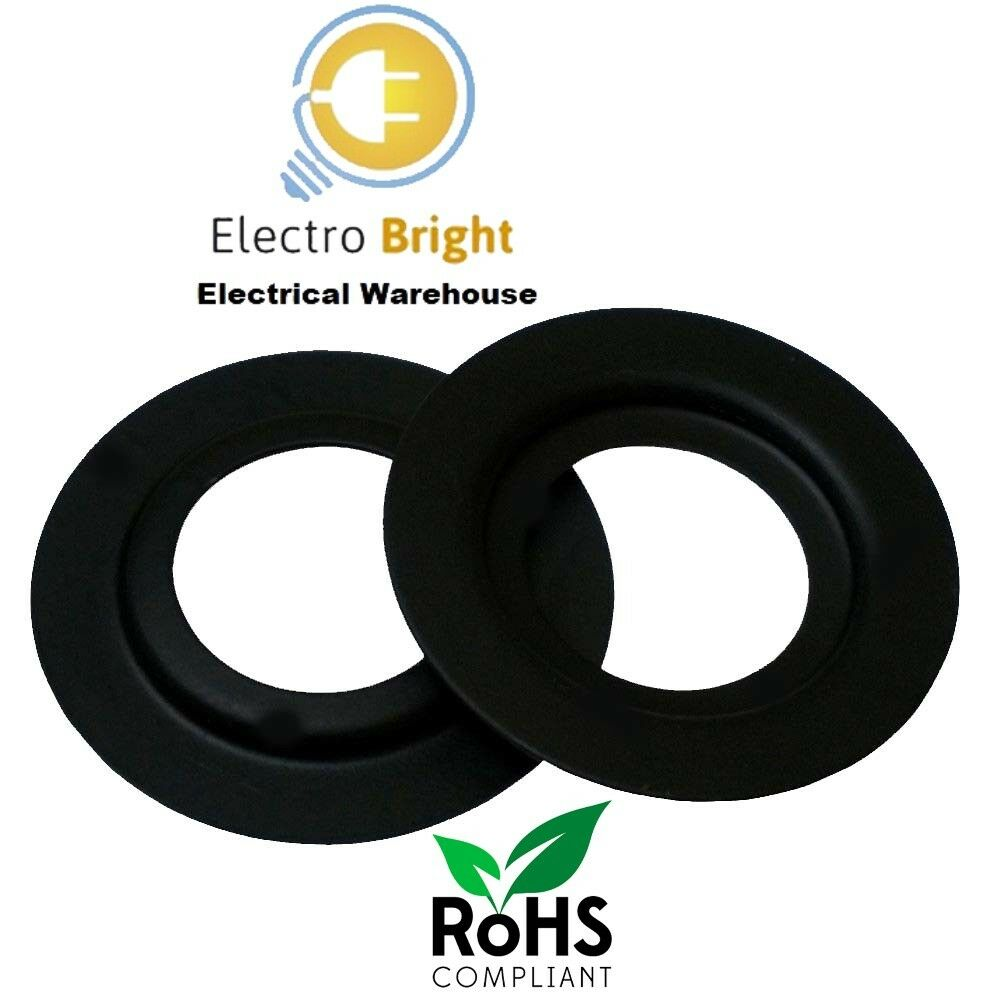 2 x Lampshade Adaptor Reducer Ring Converts Large Euro shade size to UK fitting