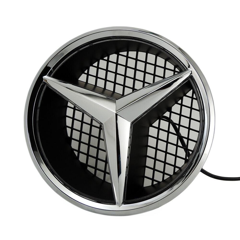 front grille star emblem logo fits mercedes benz 2006 2013. Black Bedroom Furniture Sets. Home Design Ideas