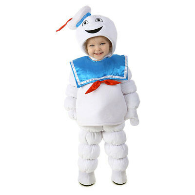 Child Ghostbusters Stay Puft Marshmallow Man Costume](Marshmallow Man Costume Kids)