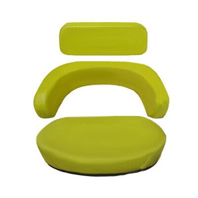 3 Piece Yellow Seat Cushion Set Fits John Deere 2520 3020 4020 4320 5020 6030