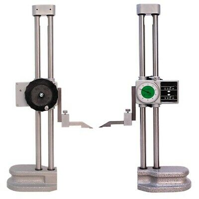 Double Dual Twin Beam 12 Dial Height Gage .001 Digital Digit Counter Gauge