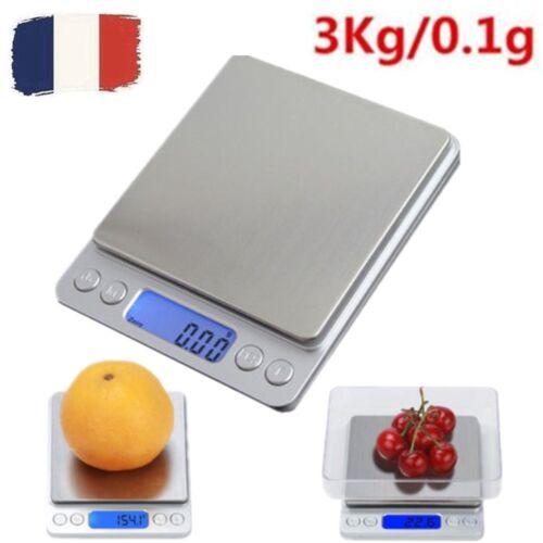 $_12 Balance de Cuisine Électronique LCD de Précision Acier Inoxydable