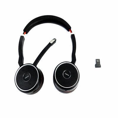 Jabra HSC040W Professional Wireless Bluetooth Headset Evolve 75 w/USB Dongle