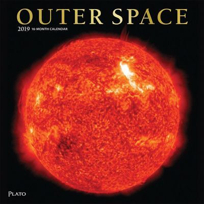 2019 Outer Space Wall Calendar, Astronomy by BrownTrout