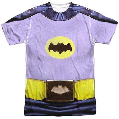 Batman Classic TV Show Adam West Costume Outfit Uniform Allover Front T-shirt