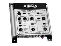 Boss Audio 2/3-way Pre-Amp Car Electronic Crossover + Remote Subwoofer Control BX45