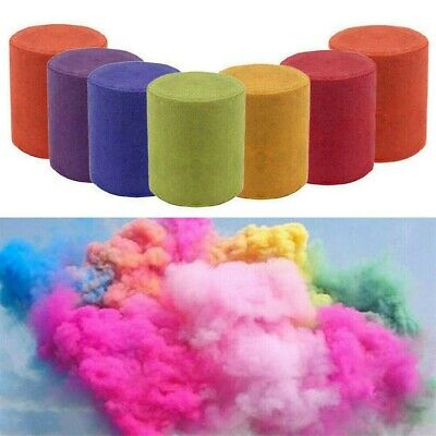 6X Multi-Colors Smoke Effect Cake Shows Bomb Stage Photography Party Celebratein