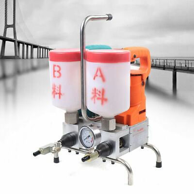 Double Liquid Grouting Steel Machine Electric Epoxy Injection Pump Leak Stoppage