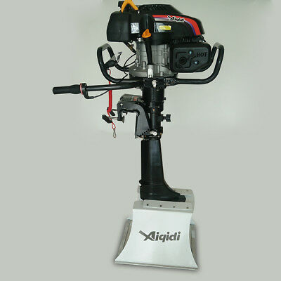 173cc Air Cooling 4stroke 6.5hp Outboard Motor Engine Long Shaft 63.5cm 5.1 Kw