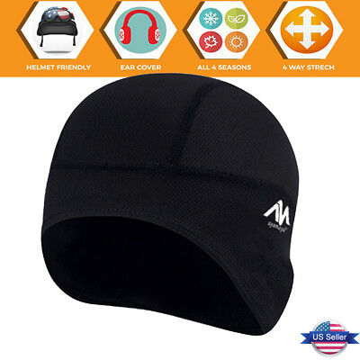 0d3559dce58 Cycling Skull Cap Under Helmet Liner Hat For Motorcycle Bicycle Football  Skiing