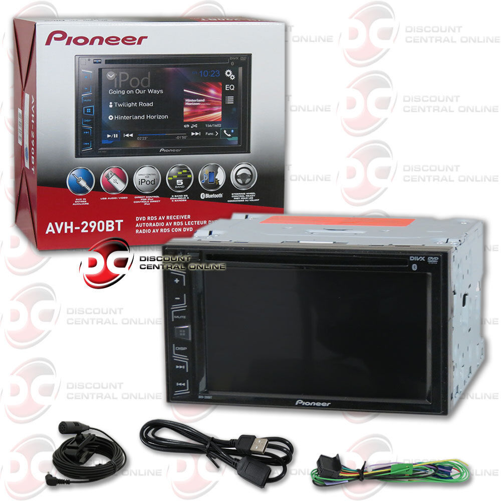 $179.99 - PIONEER AVH-290BT CAR DOUBLE DIN 6.2
