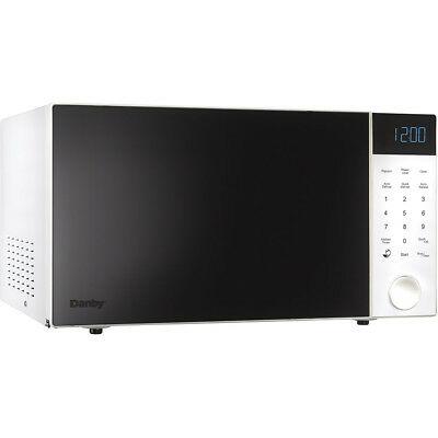Danby 1.1 Cu. Ft. 1000 Watts Countertop Microwave Oven - White