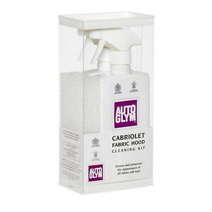 Autoglym Fabric Hood Roof Cleaner Kit - Cabriolet Soft Top Clean And Protect kit