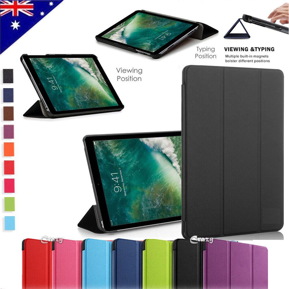 Apple iPad 5th 6th Pro Air 2 3 10.5 2019 Case Leather Flip M