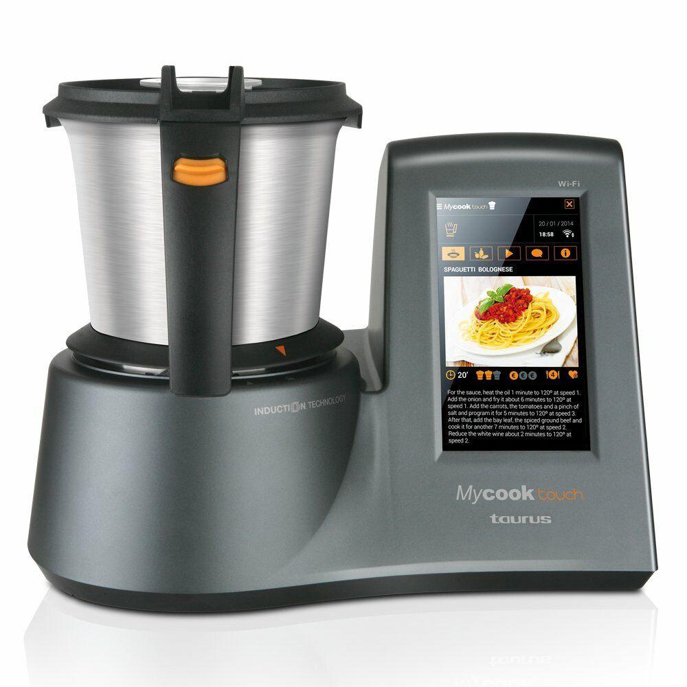 Taurus Mycook Touch - Robot Da Cucina Induzione Schermo Touch 7  Wi-Fi