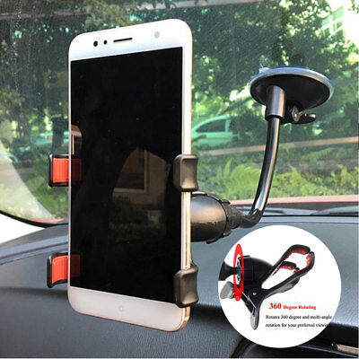 Car AUTO ACCESSORIES 360° Rotating Cell Phone Windshield Mount Holder Universal  (Accessories Windshield)