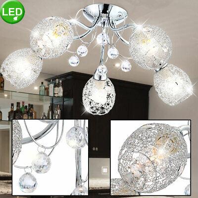 Lámpara De Techo LED Cristal Acrílico Araña Iluminación Comedor