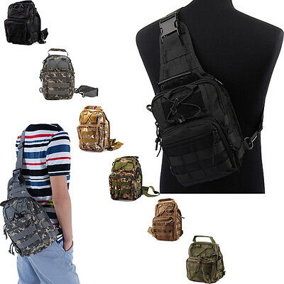 Outdoor Military Shoulder Tactical Backpack Camping Travel Hiking Trekking Bags