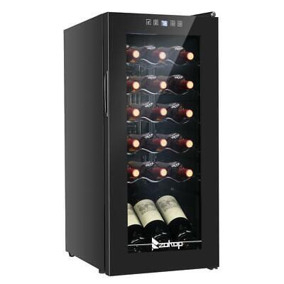 Digital 18 Bottles Cooler Wine Fridge Refrigerator Chilling Cellar 41-64°F Bar