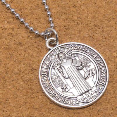 Saint St Benedict Cross Medal Large 1 1/4