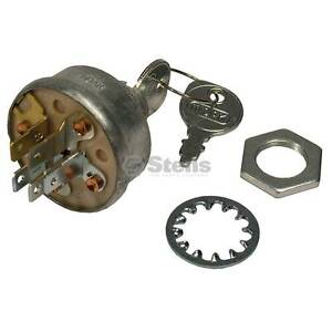 Stens 430-538 Indak Starter Ignition Switch MTD Cub Cadet John Deere AM102551