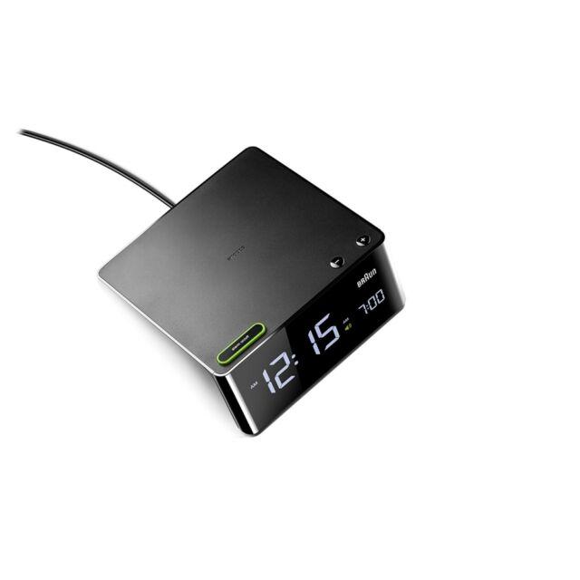 Braun Uhren BNC016 BK LED-Wecker Schwarz digitale Anzeige Nachweckautomatik