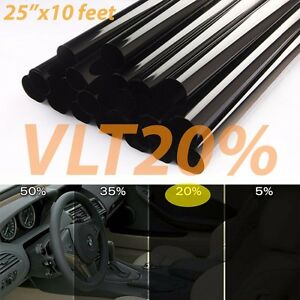 Uncut Window Tint Roll 20% VLT 25