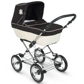 Silver cross elegance pram/buggy/pushchair and car seat
