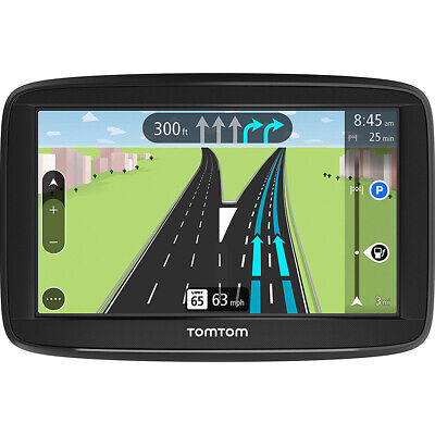 "TomTom VIA 1625TM 6"" Portable Touchscreen GPS Navigation Lifetime Maps"