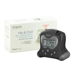 Oregon Scientific RM313PNFA Atomic Projection Clock Indoor Temperature Black