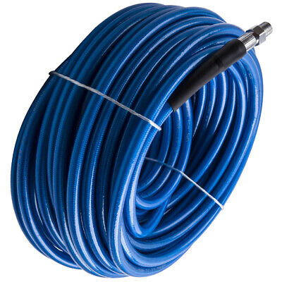 14 100ft Carpet Cleaning Solution Hose High Pressure 3000psi Cleaner Wand Cuff