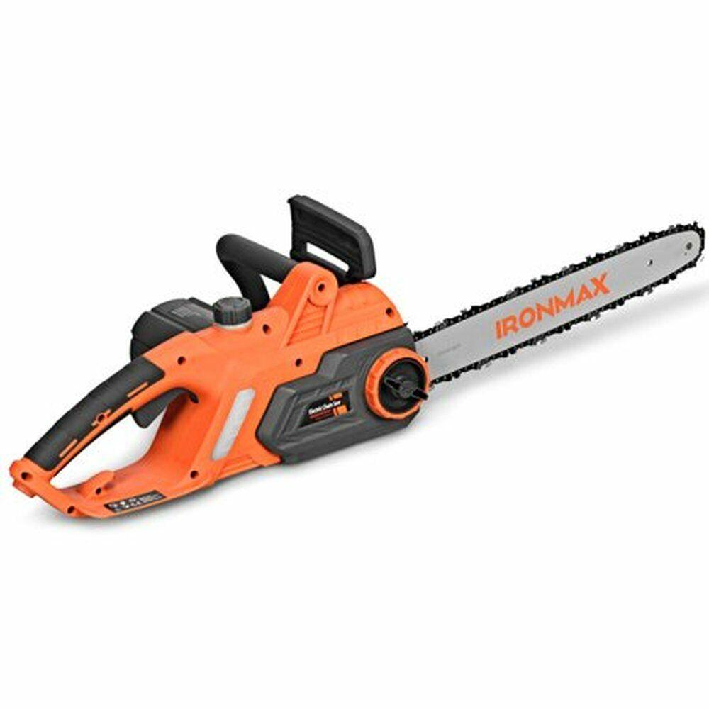 Electric 16-inch Chain Saw Compact Powerful Chainsaw 13Amp w