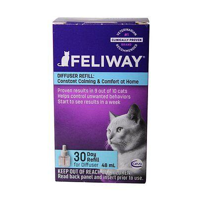 Ceva Animal Health Feliway Cat 30 Day Refill Diffuser 48Ml Pheromone