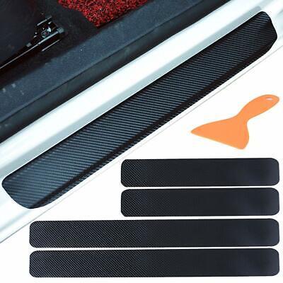 4X Einstiegsleisten Schutz Premium Ladekantenschutz-Folie Kratzer Carbon EL-DHL