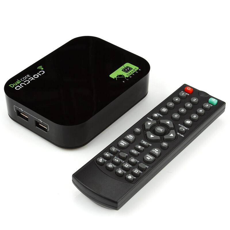 Цифровая tv приставка tv box dual core android 4 2