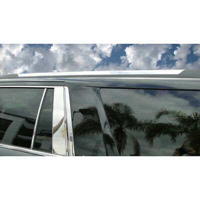 Chrome Roof Rack Accent Trim Covers (2 PC) for 2015-2019 Chevy Tahoe