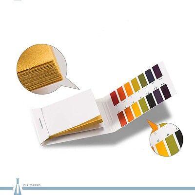 Universal Tester Acidic Strips Indicator Full Alkaline Ph Test Range Paper