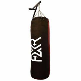 (NEW) FXR SPORTS CANVAS FILLED PUNCHBAG PUNCH BAG KICK BAG BRACKET CHAINS 3FT 4FT 5FT