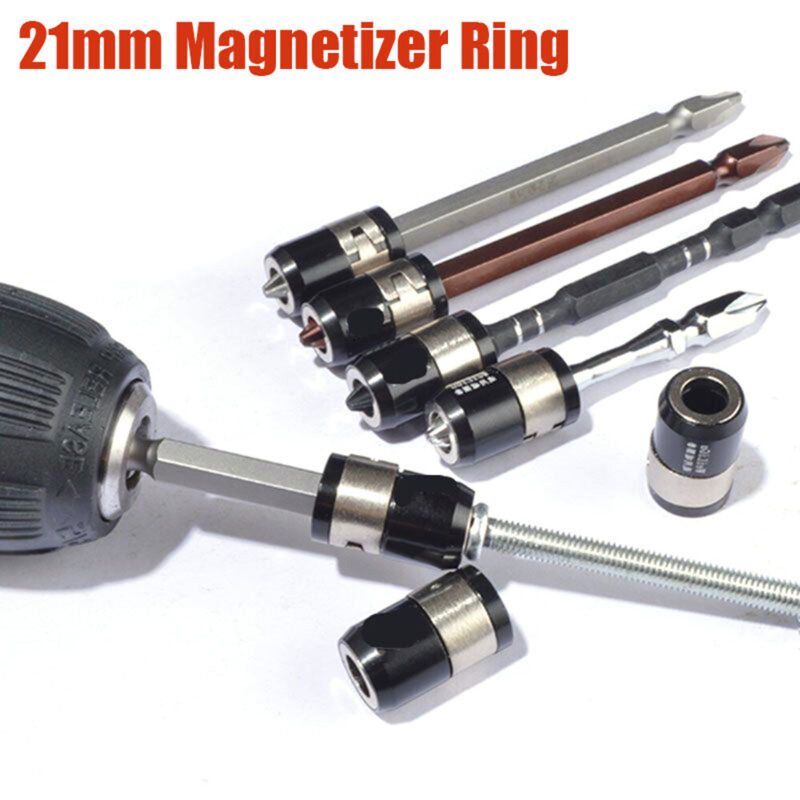 Universal Removable Hand Tools Screwdriver Bits Magnet Driver Magnetizer Ring