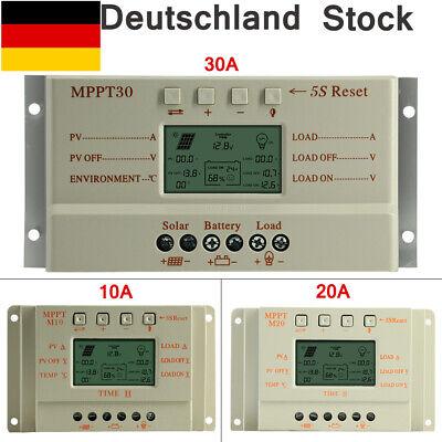Solar Laderegler Solarregler MPPT Solar panel Controller Regulator 12/24V System Mppt Solar Controller